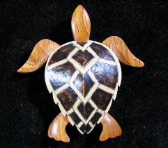 Turtle magnet burnt design photo